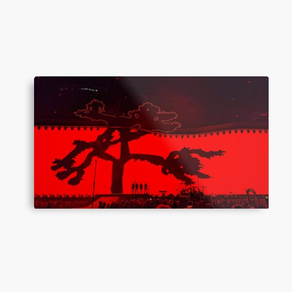 U2 Joshua Tree - Melbourne 2019 Metal Print