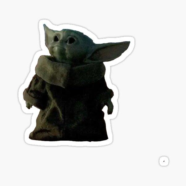 Baby Yodas Leben Sticker
