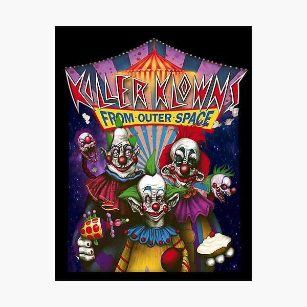 Killer Klowns from Outer Space Photographic Print