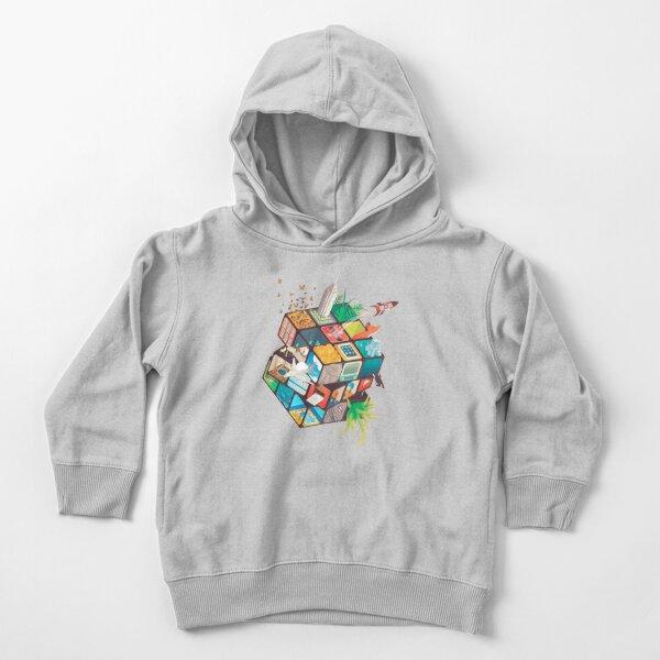 Group of Melting Rubiks Hoodie Abstract Art Gaming Cube Adult /& Kids Hoodie Top