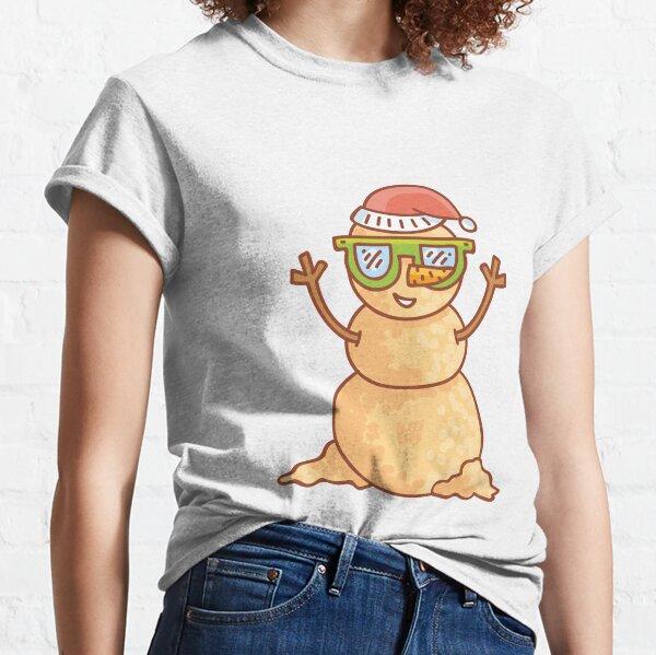Summer Sand Man Australia by AussiEmoji™ Classic T-Shirt