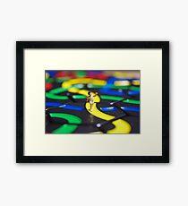 Yellow Brick Road Framed Print