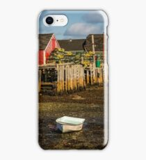 Blue Rocks, Nova Scotia iPhone Case/Skin