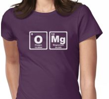 OMG - Periodic Table Womens Fitted T-Shirt