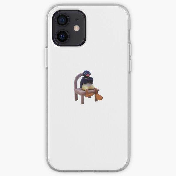 Pingu enojado Funda blanda para iPhone