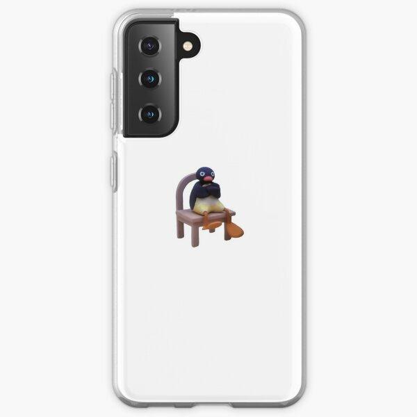 Angry Pingu Coque souple Samsung Galaxy