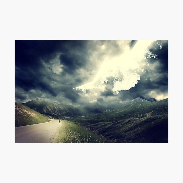 The Sky Bleeds Light Photographic Print