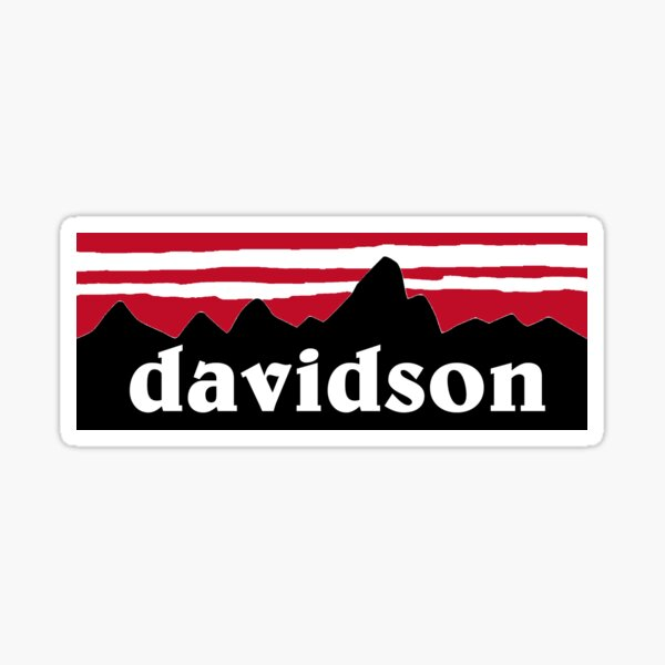 Sticker - 006 Davidson College Wildcats NCAA Vinyl Decal Laptop Water Bottle Car Scrapbook