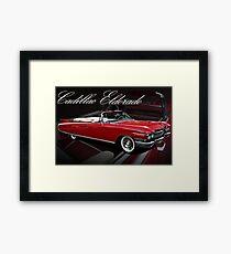 1960 Cadillac 62 Series Convertible El Dorado Framed Print