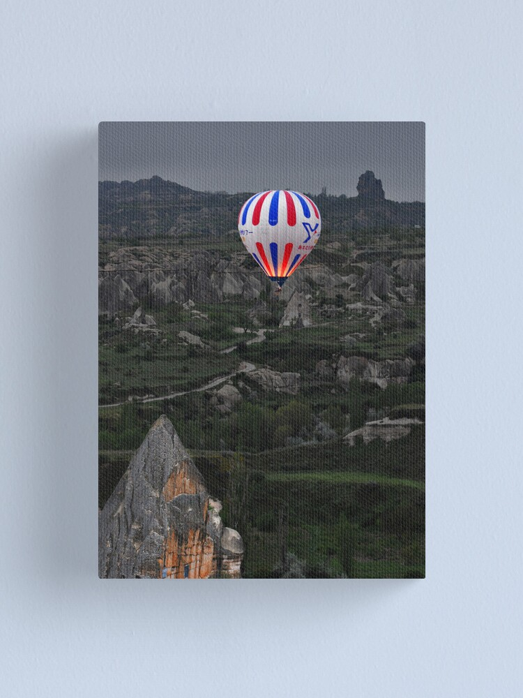 Alternate view of Flight over the Valley Canvas Print