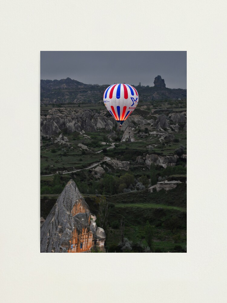 Alternate view of Flight over the Valley Photographic Print