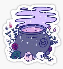 Kawaii Cauldron Sticker