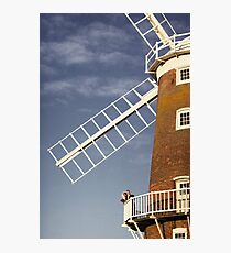 Cley Windmill - Love in the air Photographic Print