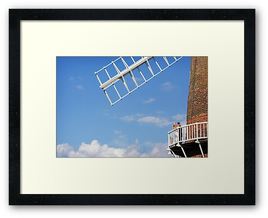 Cley Windmill - Love is in the air by cleywindmill