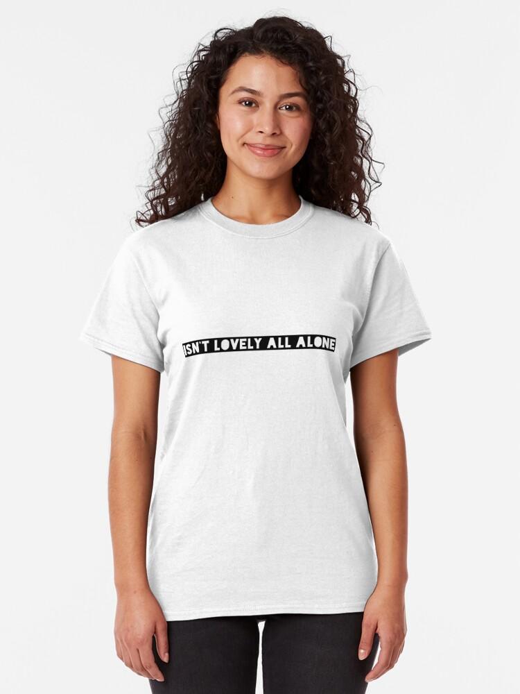 Billie Eilish Lovely Lyrics Print Isn/'t It Lovely White T-Shirt