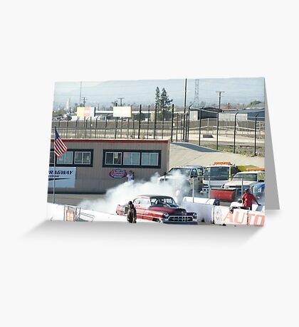 Clear for take off; Summit Series Racing; Fomoso Raceway Greeting Card