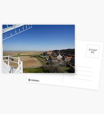 Cley windmill - the view from the fan-stage Postcards