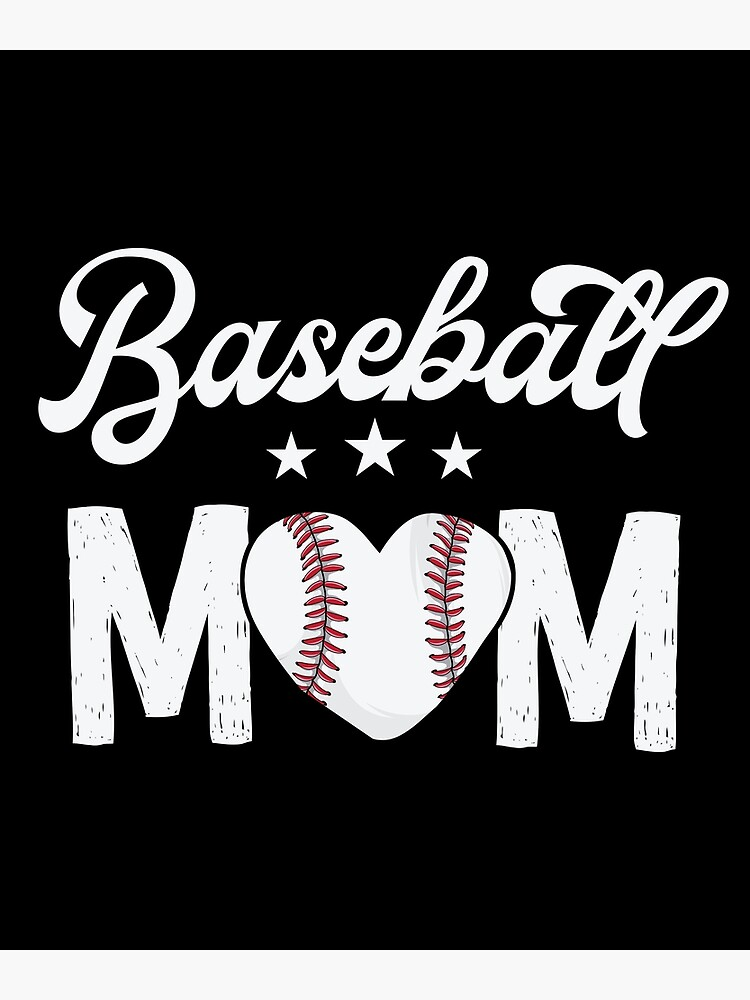VINTAGE LOVE HEART BASEBALL SOFTBALL MOM MOTHER DAY GIFT FAN TEE MENS HOODIE