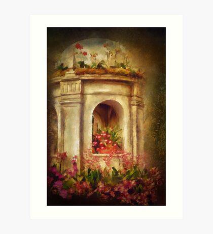 Orchids Fantasy Art Print