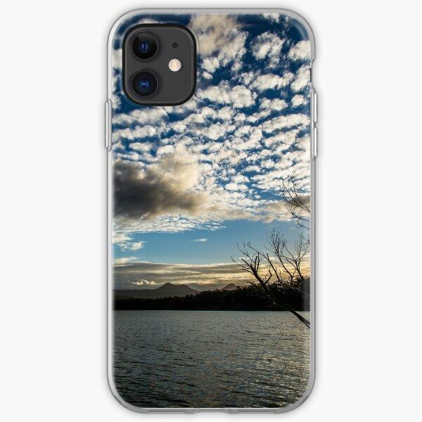 Lake sunset iPhone Soft Case