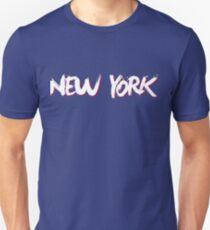 New York: Blue Unisex T-Shirt