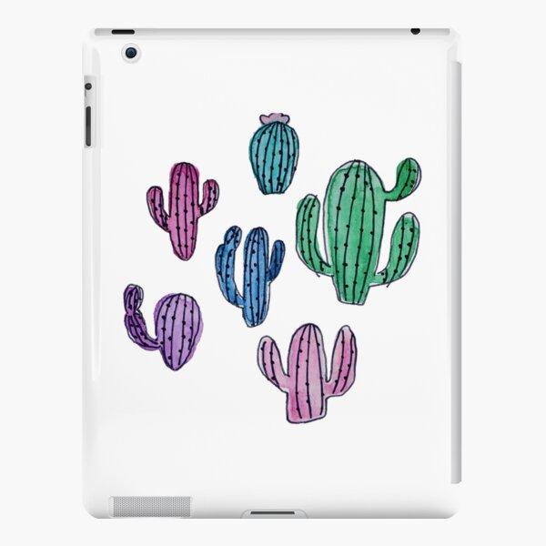 Watercolor Cacti iPad Snap Case