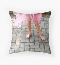 Butterfly Fairy 2 Throw Pillow