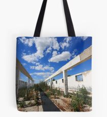 Being roofless Tote Bag