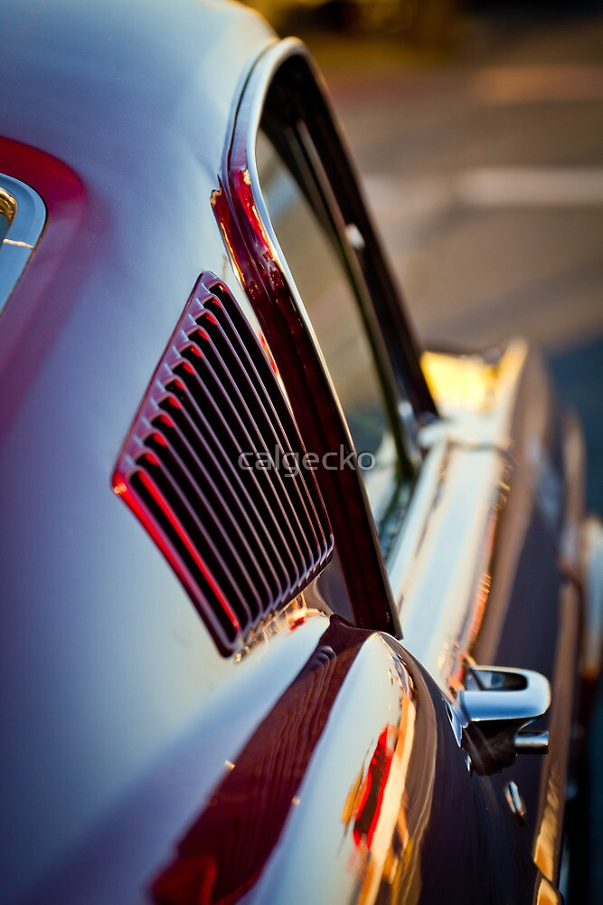 Classic Mustang at the drag races by calgecko