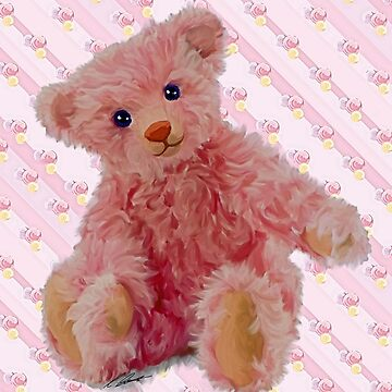 Pretty in Pink teddy by CazzieCreations