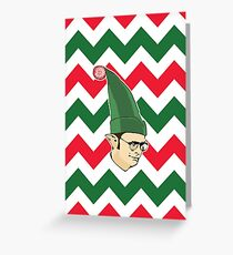 Dwight - Christmas Elf Greeting Card