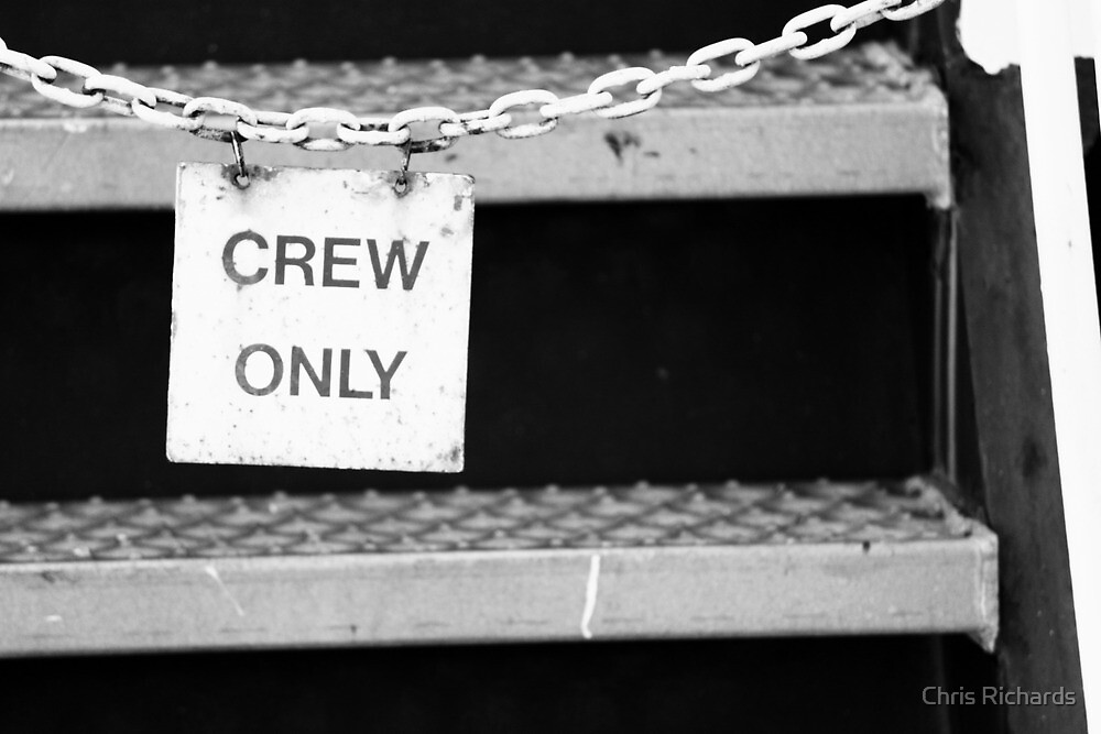 Crew Only by Chris Richards