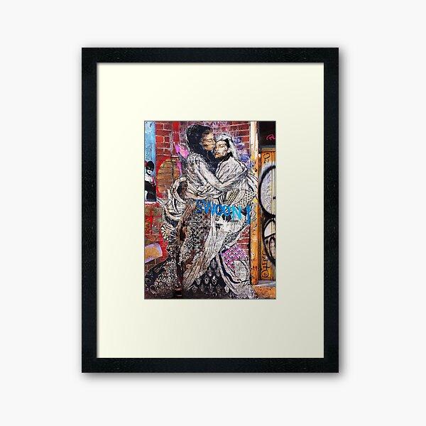 Swoon ~ graffiti Framed Art Print