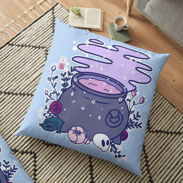 Kawaii Cauldron Floor Pillow