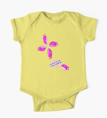 I want to be your friend.Pink fish Kids Clothes
