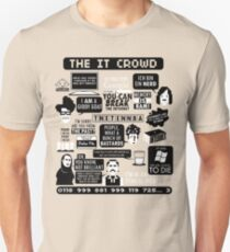 The IT Crowd Quotes Unisex T-Shirt