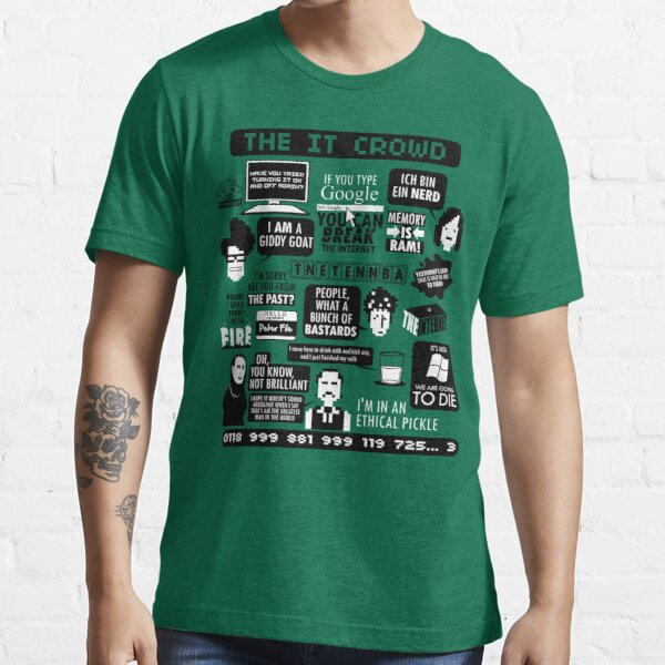 The IT Crowd Quotes Essential T-Shirt