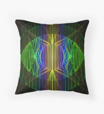 Cylinders Throw Pillow