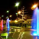 fountain lights by calebhill