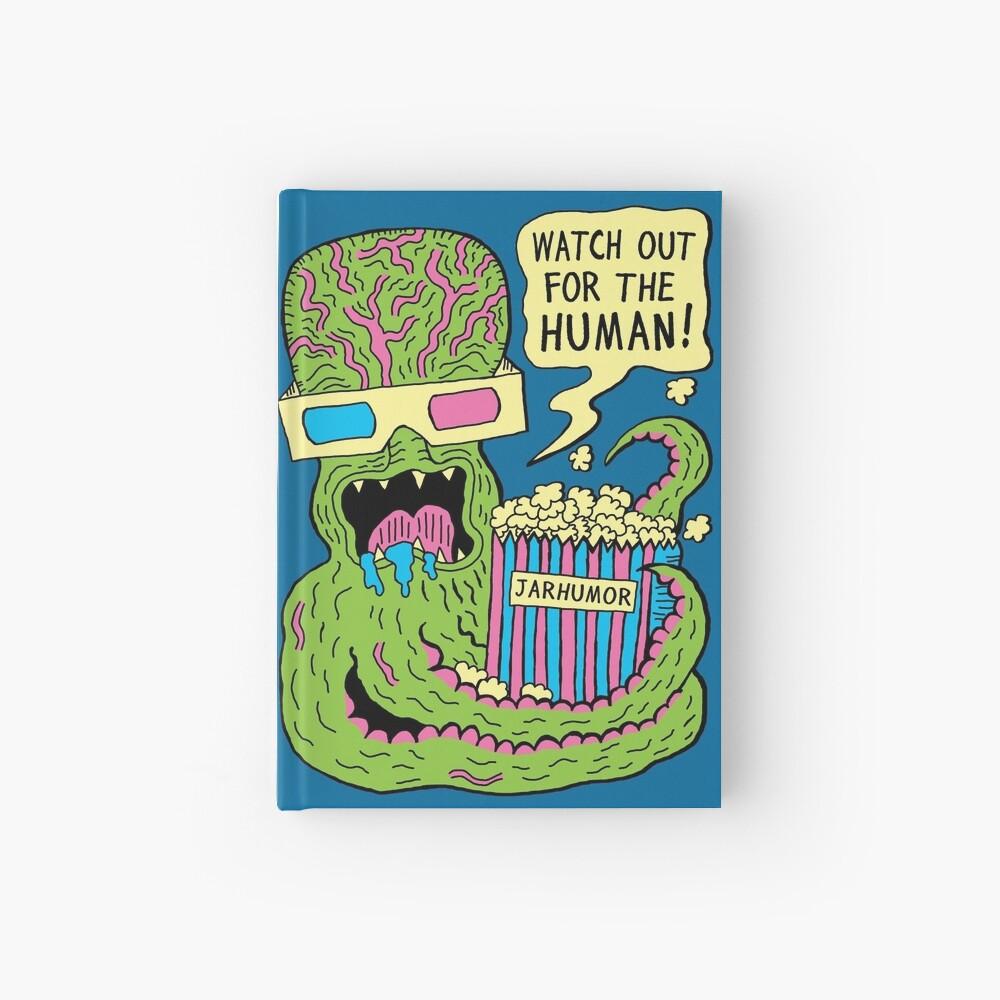 Alien Monster Movie Hardcover Journal