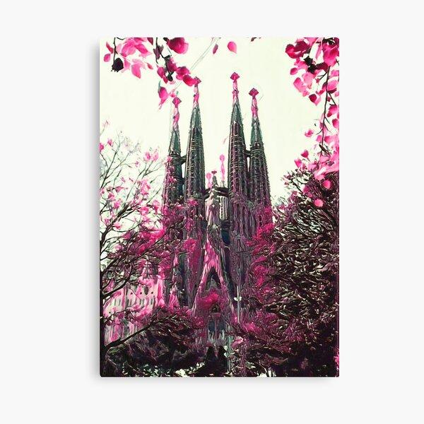 Basilica of the Sagrada Família III Canvas Print