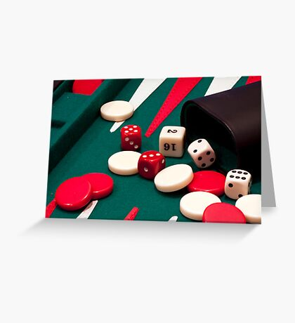Games up! Greeting Card