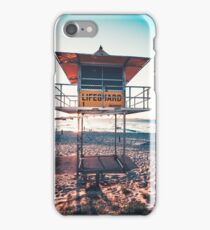 Lifeguard Tower iPhone Case/Skin