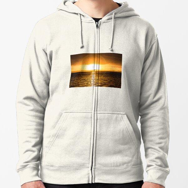 Wellington Point Sunrise Zipped Hoodie