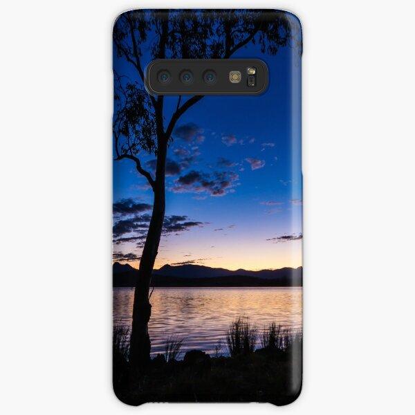 Dusk at the lake  Samsung Galaxy Snap Case