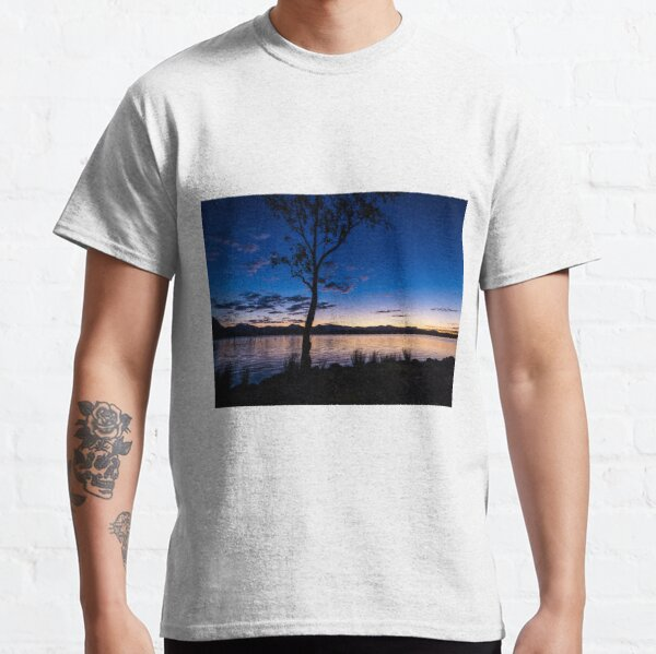 Dusk at the lake  Classic T-Shirt