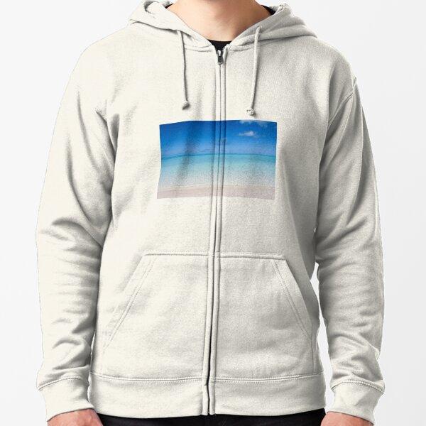 Heron Beach Zipped Hoodie