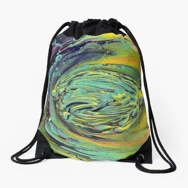 Falling into wonderland Drawstring Bag