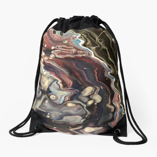 Twisted thoughts Drawstring Bag