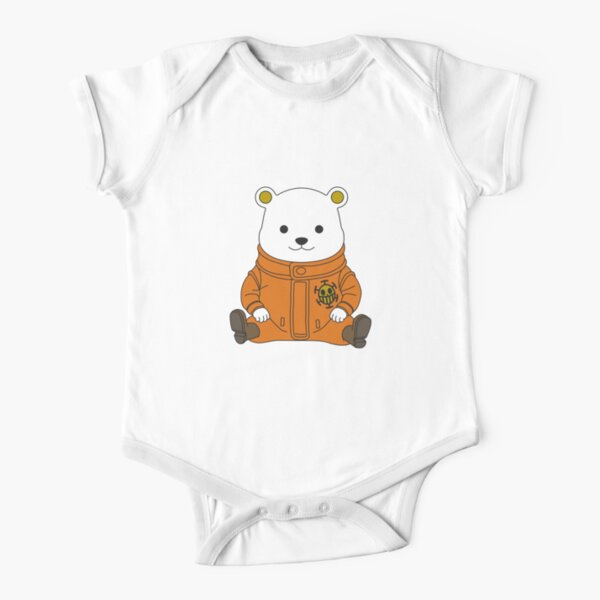 Happy Bepo Short Sleeve Baby One-Piece